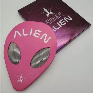 Jeffree star discontinued alien eyeshadow palette